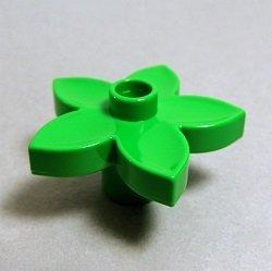 画像1: 4121575【Bright Green】デュプロ 花 1個