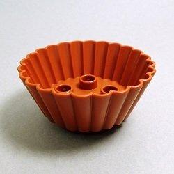 画像1: 4644200,6114698【Dark Orange】デュプロ マフィンカップ 1個