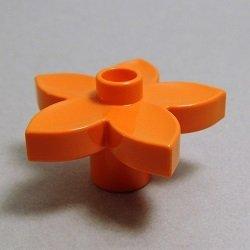 画像1: 4224677【Orange】デュプロ 花 1個