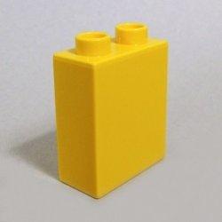 画像1: 6030817【Yellow】デュプロ 1x2x2ブリック 1個