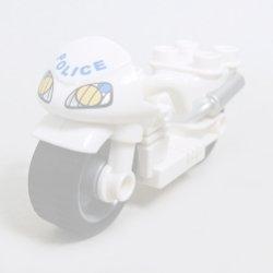 画像1: 4612115,6063242【White】デュプロ バイク 1個