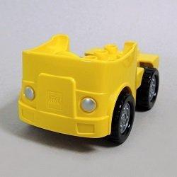 画像1: 6021302+6048910【Yellow+Black】デュプロ クルマ 1個