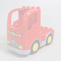 画像1: 6108648+6056593,6135456【Red+Light Bluish Gray】デュプロ トラック 1個