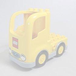 画像1: 6109014+6056593,6135456【Yellow+Light Bluish Gray】デュプロ トラック 1個