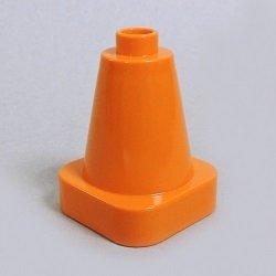 画像1: 6057566【Orange】デュプロ 2x2x2コーン 1個