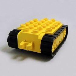 画像1: 6143797+6070192【Yellow+Black】デュプロ キャタピラー・カーベース 1個