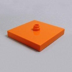 画像1: 6147335【Orange】デュプロ 4x4ターンテーブル・ベース 1枚