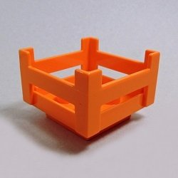 画像1: 6151282【Orange】デュプロ コンテナ 1個