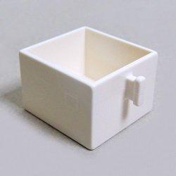 画像1: 6167554【White】デュプロ 2x2引き出し 1個