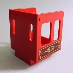 画像1: 6259642【Red】デュプロ キャビン(番号95) 1個