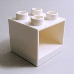 画像1: 6258902【White】デュプロ 2x2x1.5キャビネット 1個