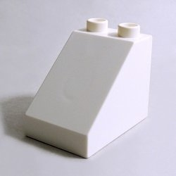 画像1: 6294386【White】デュプロ 2x3x2スロープ 1個