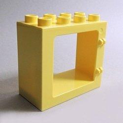 画像1: 6294401【Bright Light Yellow】】デュプロ 2x4x3窓枠 1個